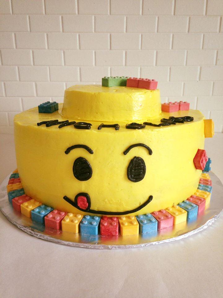Lego Birthday Cake Krystals Cupcakes